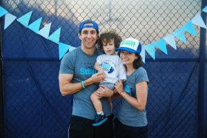 One Small Step Walk for Prader-Willi Syndrome Research at the Belterra Recreation Center in Dripping Springs, Texas on October 10, 2015. Photo by Lauren Gerson.